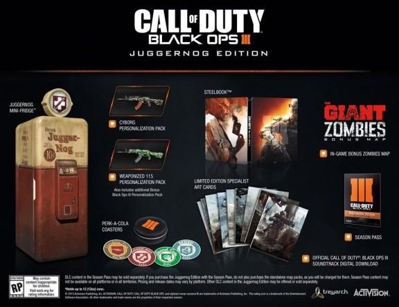 Call of Duty: Black Ops 3 (III) Juggernog Edition (Xbox One)
