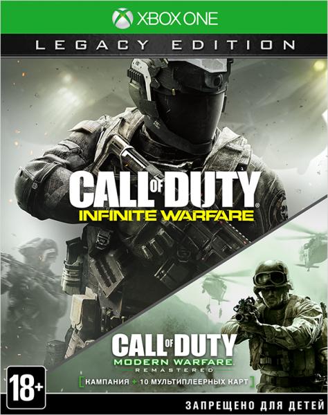 Call of Duty: Infinite Warfare Legacy Edition Русская Версия (Xbox One)