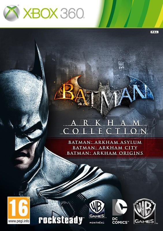 Batman: Arkham Trilogy Collection Русская Версия (Xbox 360)