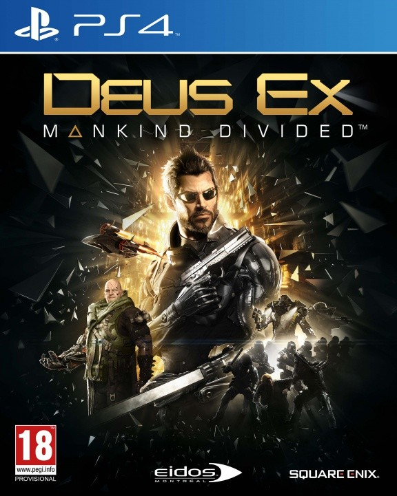 Deus Ex: Mankind Divided Русская Версия (PS4)