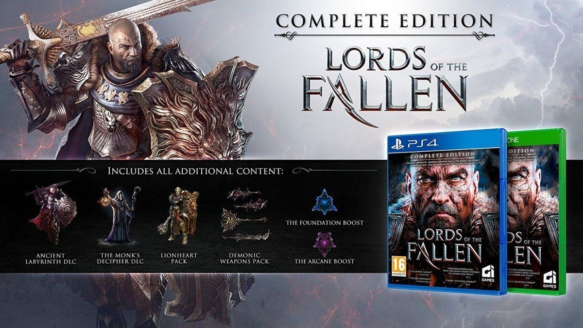 Lords of the Fallen Полное издание (Complete Edition) Русская Версия (PS4)