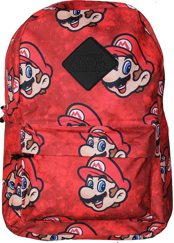 Рюкзак Difuzed: Нинтендо Супер Марио (Nintendo Super Mario) Сублимация (Sublimation) (BP130733NTN) 28 см